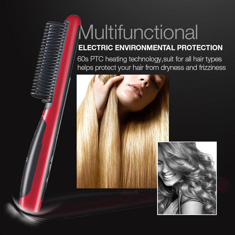 50% OFF Only Today!! - ELECTRIC HAIR STRAIGHTENER STYLER HOT COMB!!!