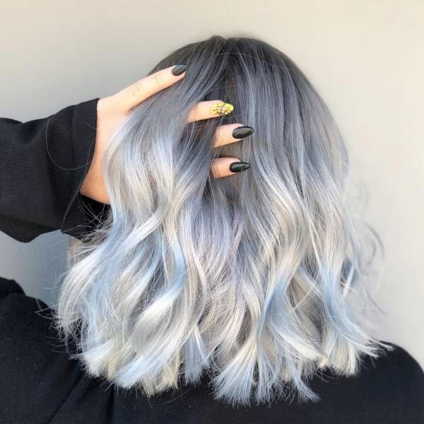 2020 Best Lace Front Wigs Mens Grey Hair Treatment Salt And Pepper Human Hair Wigs Blue Hair Highlights White Girl Wearing Lace Front Wig