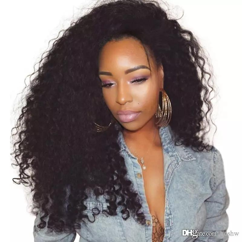 Lace Front Black Wig beeos remy Lace hair wigs near me