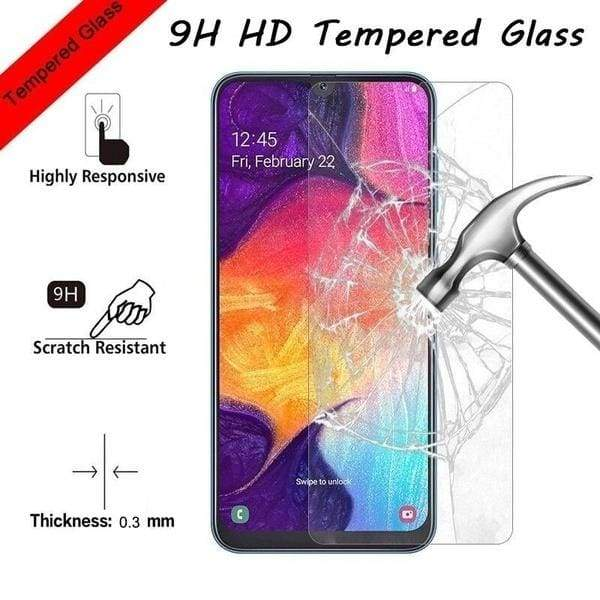 3 PCS Screen Protector Film Tempered Glass For Samsung Galaxy A50 A40 A70 A30 A20e A10 A60 Protective Film