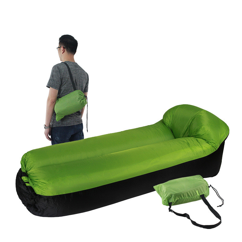 Inflatable Lounger Air Sofa Hammock-Portable,Water Proof& Anti-Air Leaking Design-Ideal Couch for Backyard Lakeside Beach Traveling Camping Picnics & Music Festivals