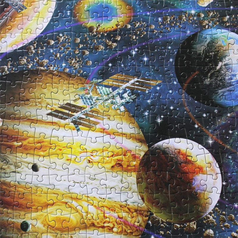 1000 Pieces Jigsaw Puzzle Space & Galaxy for Adults