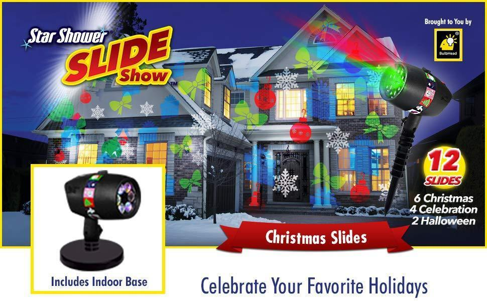Christmas Lights Projector (12 in 1)