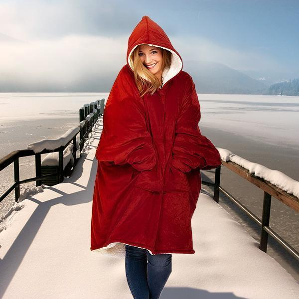 🎅🎅Christmas Hot Sale!!! - Winter Oversized Warming Hoodie(Buy 2 Save 10% OFF+Free Shipping)