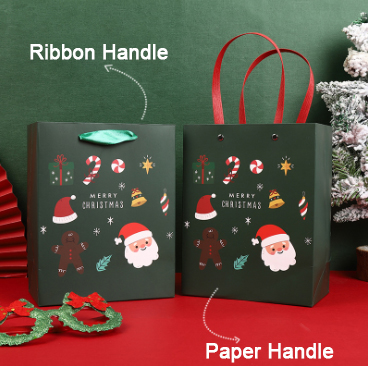 🔥Oder Over $35 Save $5🔥12pcs High Quality And Exquisite Christmas Gift Bags