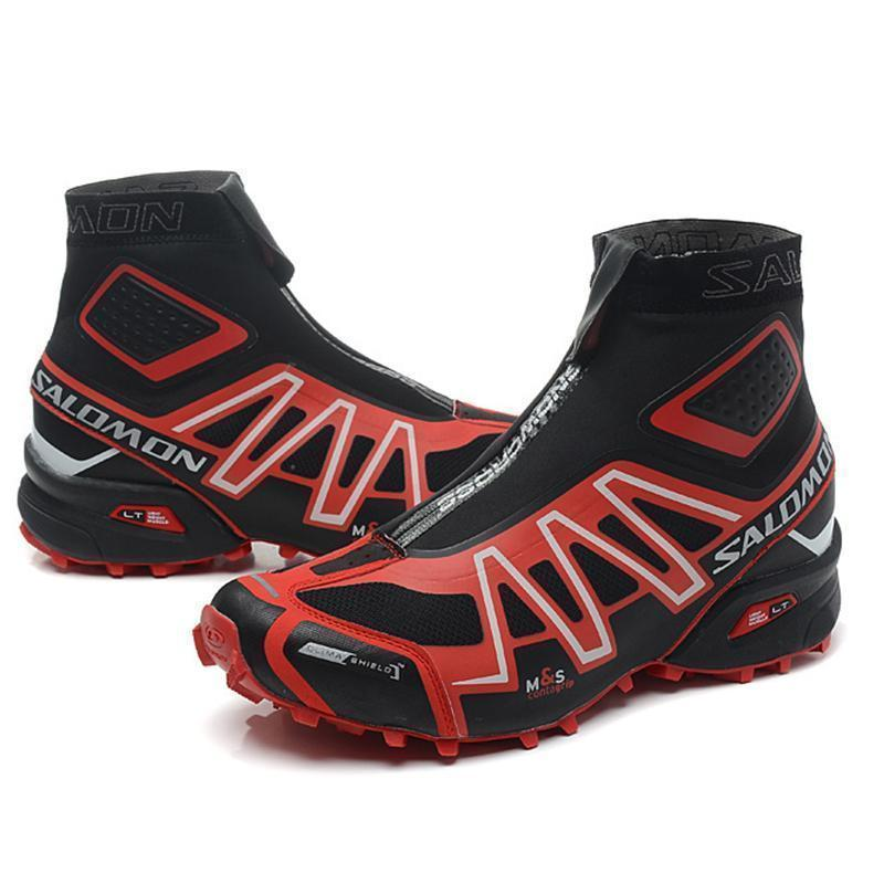 TRAIL ADVENTURE-Men's Outdoor New Waterproof Tactical Military Cross Country Boots