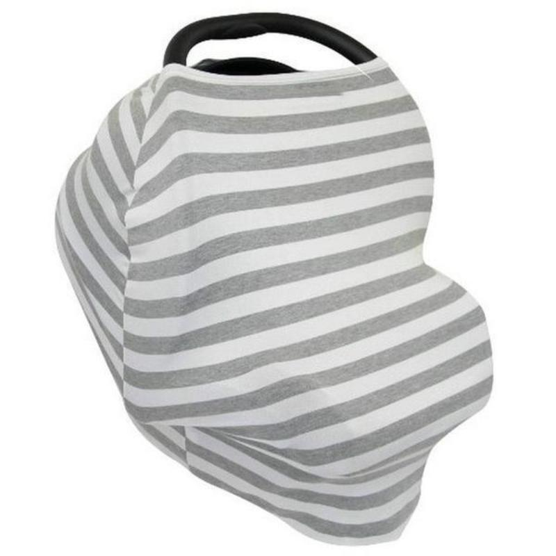 Soft Stretchy Breathable Baby Car Seat Canopy Nursing Cover