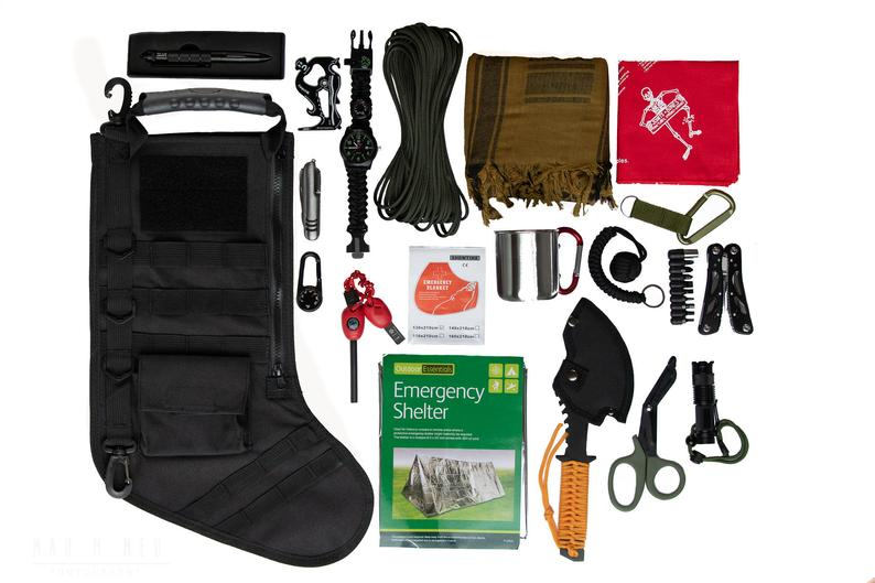 Christmas promotion-Tactical Christmas Stocking