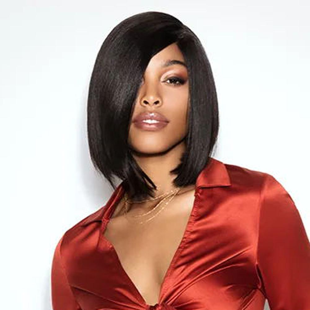 Luna 029 Shoulder Length Straight Bob Wig for Black Women