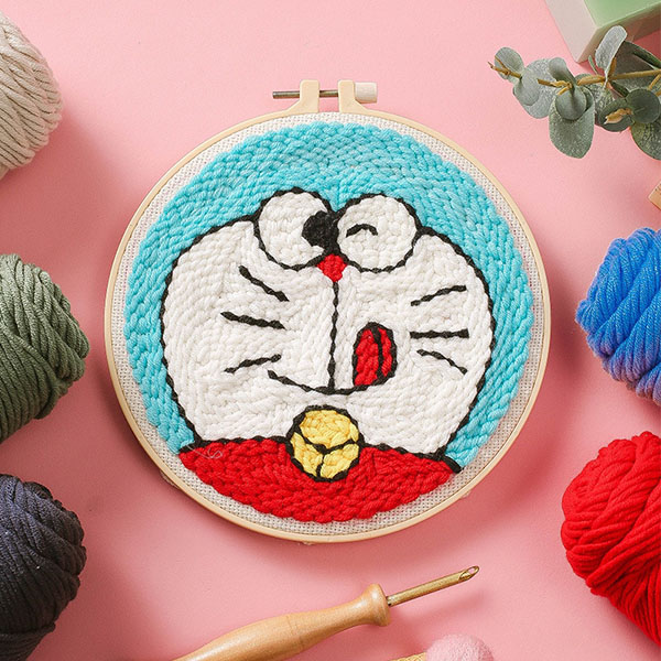 Easy DIY Punch Embroidery Kit【50% OFF】