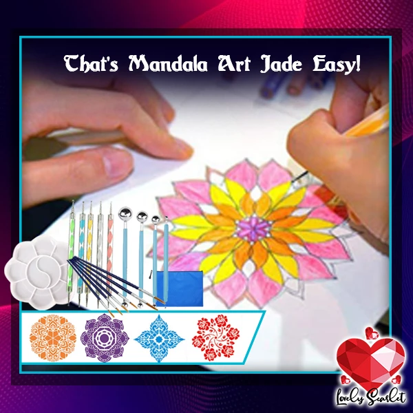 Mandala Dotting Tools Kit,30% OFF NOW!