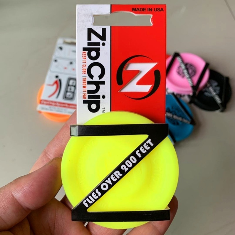 Silicone Ultimate Mini Pocket Zip Chip Flying Disc Outdoor Zip Chip Spin Game Toys