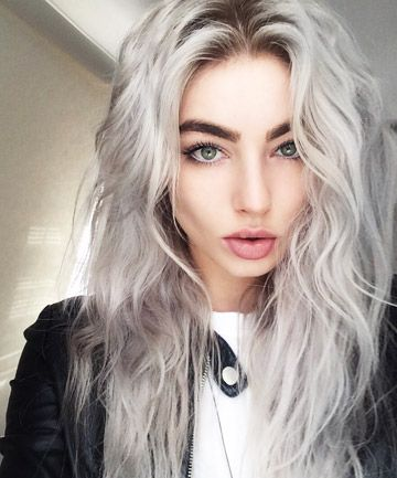 2020 New Gray Hair Wigs For African American Women Brown Curly Wig Ombre Ash Gray Dark Grey Brown Hair Caucasian Wigs Blonde Ombre Wig