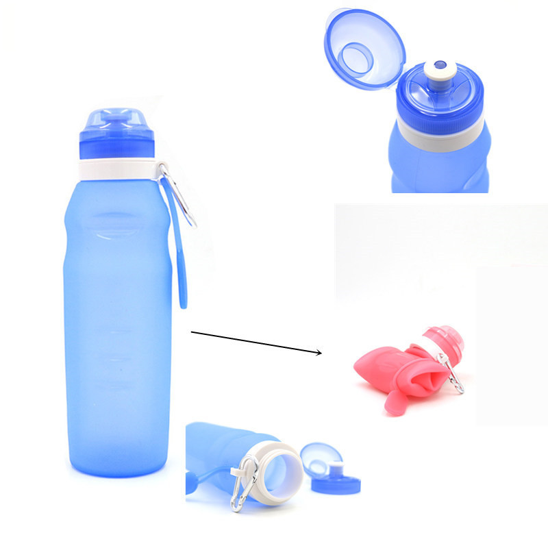 [BUY 2 GET FREE SHIPPING] Portable Collapsible Silicone Water Bottle