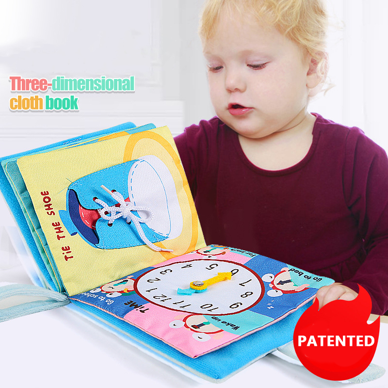 MY FIRST BOOK - Engage your child in their first stages of development.- BUY 2 FREE SHIPPING