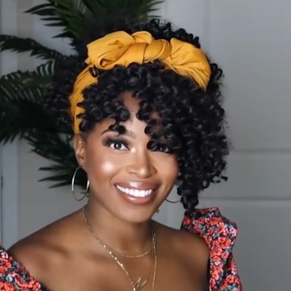Special OFF | Beginner Friendly Natural Big Curly  Various hairstyles Wig