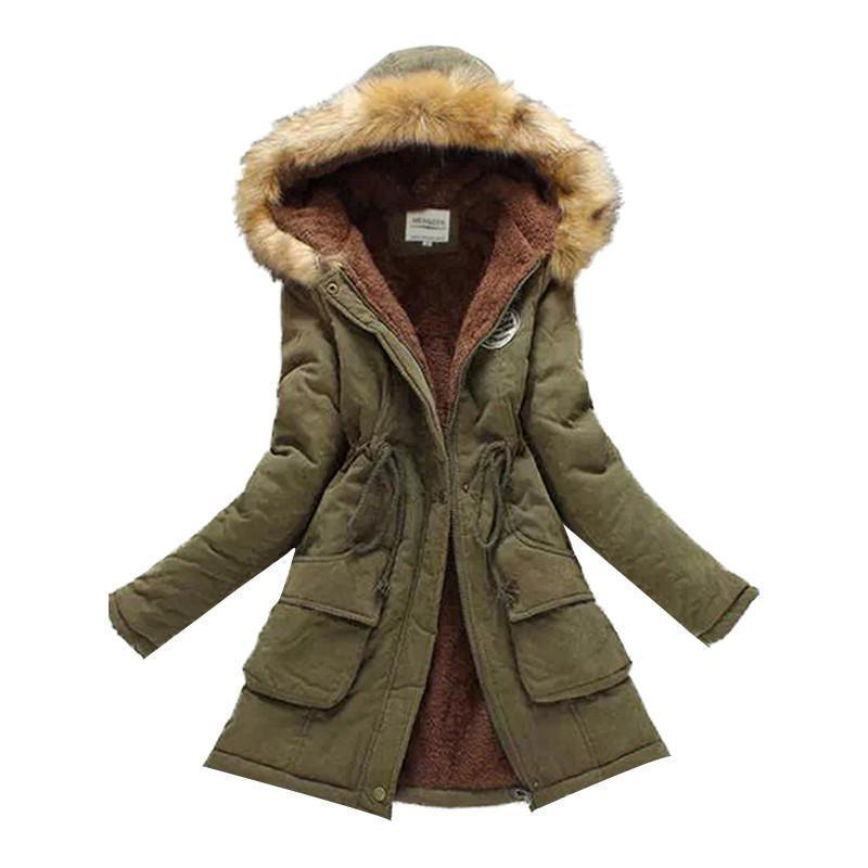 Women Winter Coat Thickening Cotton Jacket
