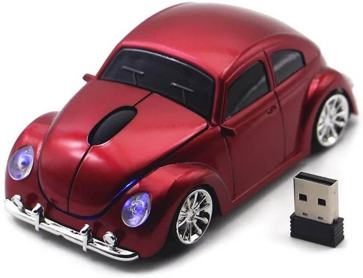 2021 Authentic wireless VW Beetle Model Mouse With USB