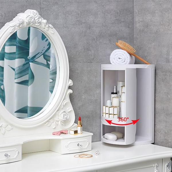 Rotating Bathroom Storage Rack - FREE SHIPPING