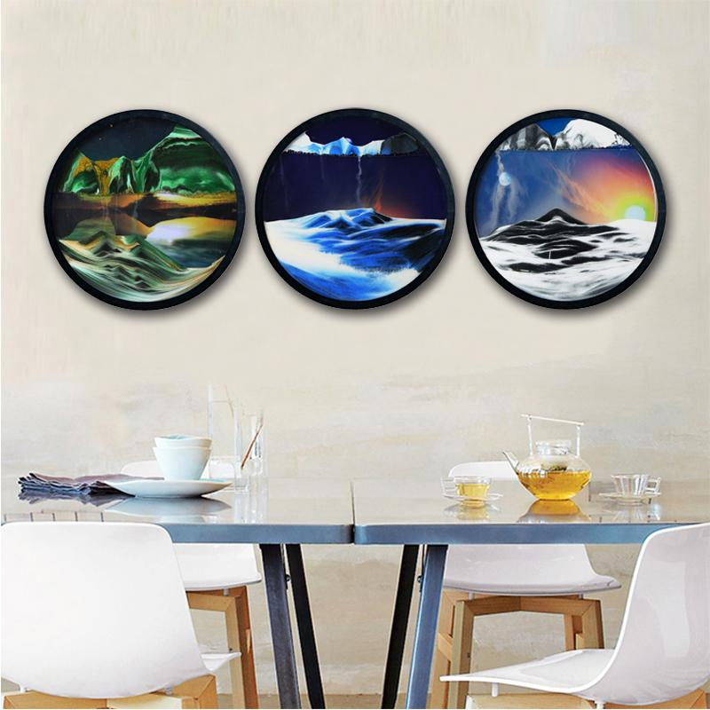 2021 Best Gift🔥Mountains Moving Murals Sand Pictures Art(On The Wall)📢 50% OFF