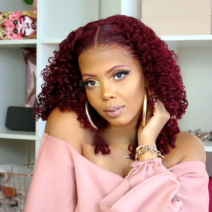 【Popular Series】Super Cute Afro Kinky Curly Wig