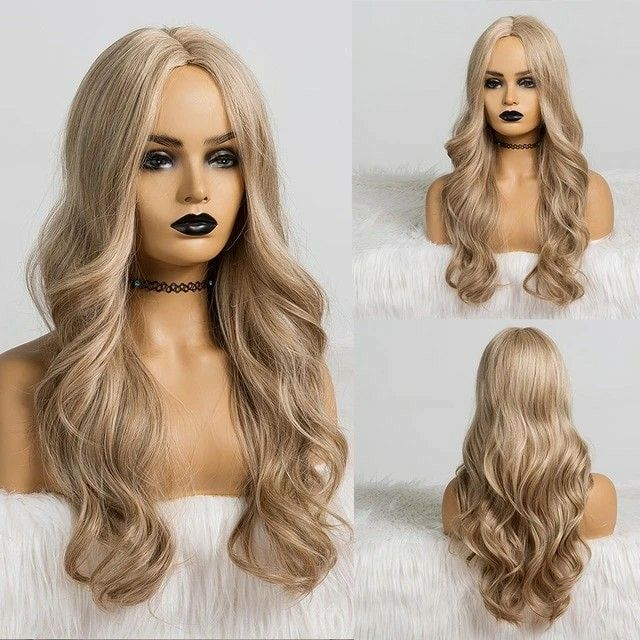 Lace Front Wigs Brown Wigs Blonde Wigs Blonde 30 Inch Wig Platinum Blonde Hair With Dark Roots Wigs For Black Women