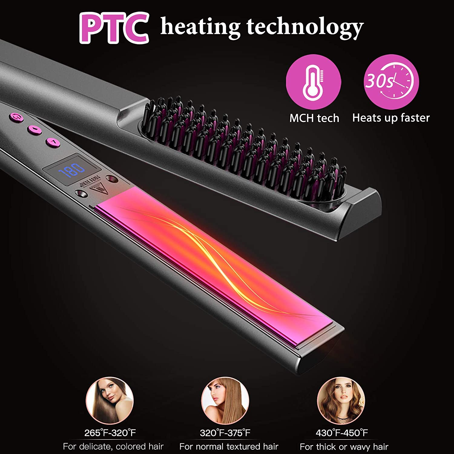 3 In 1 Hair Straightener(Holiday Sale!)
