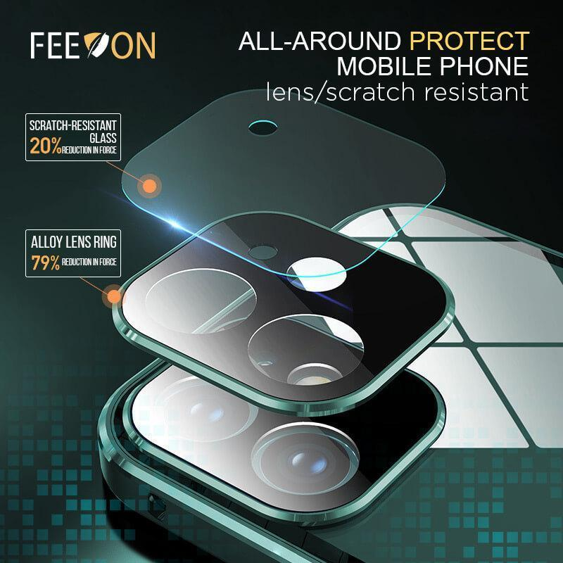 Anti-peep Double-Sided Buckle iPhone Case