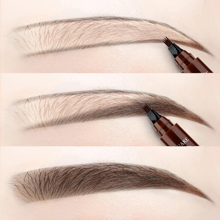 (Early Mother's Day Hot Sale-48% OFF)4 Points Eyebrown Pen Buy 1 Get 1 Free(2 Pcs)
