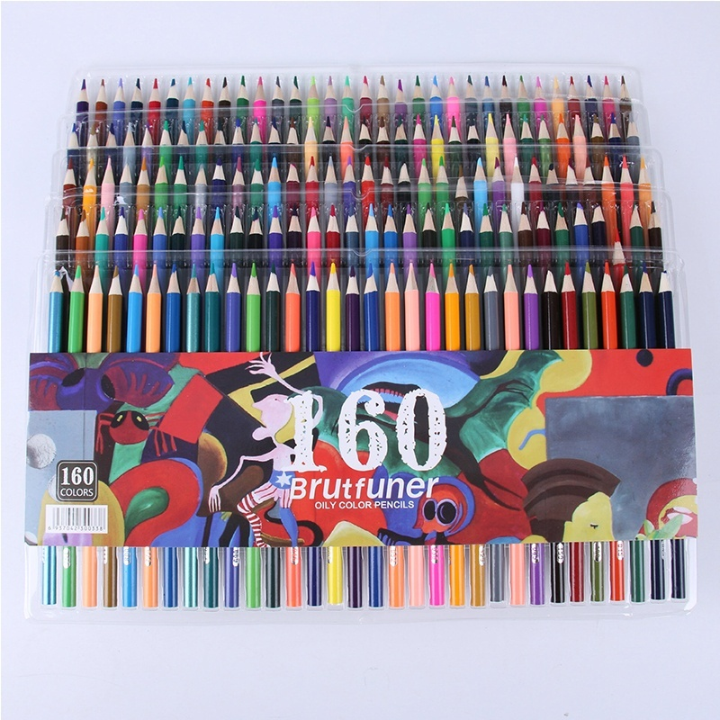 160colors Watercolor Pencils, Water Soluble Colored Pencils for Art Students Professionals -Assorted 160/120/72 Colors for Sketch Coloring Pages