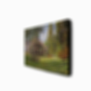 Oil Painting Hand Painted - Famous Landscape Modern Stretched Canvas