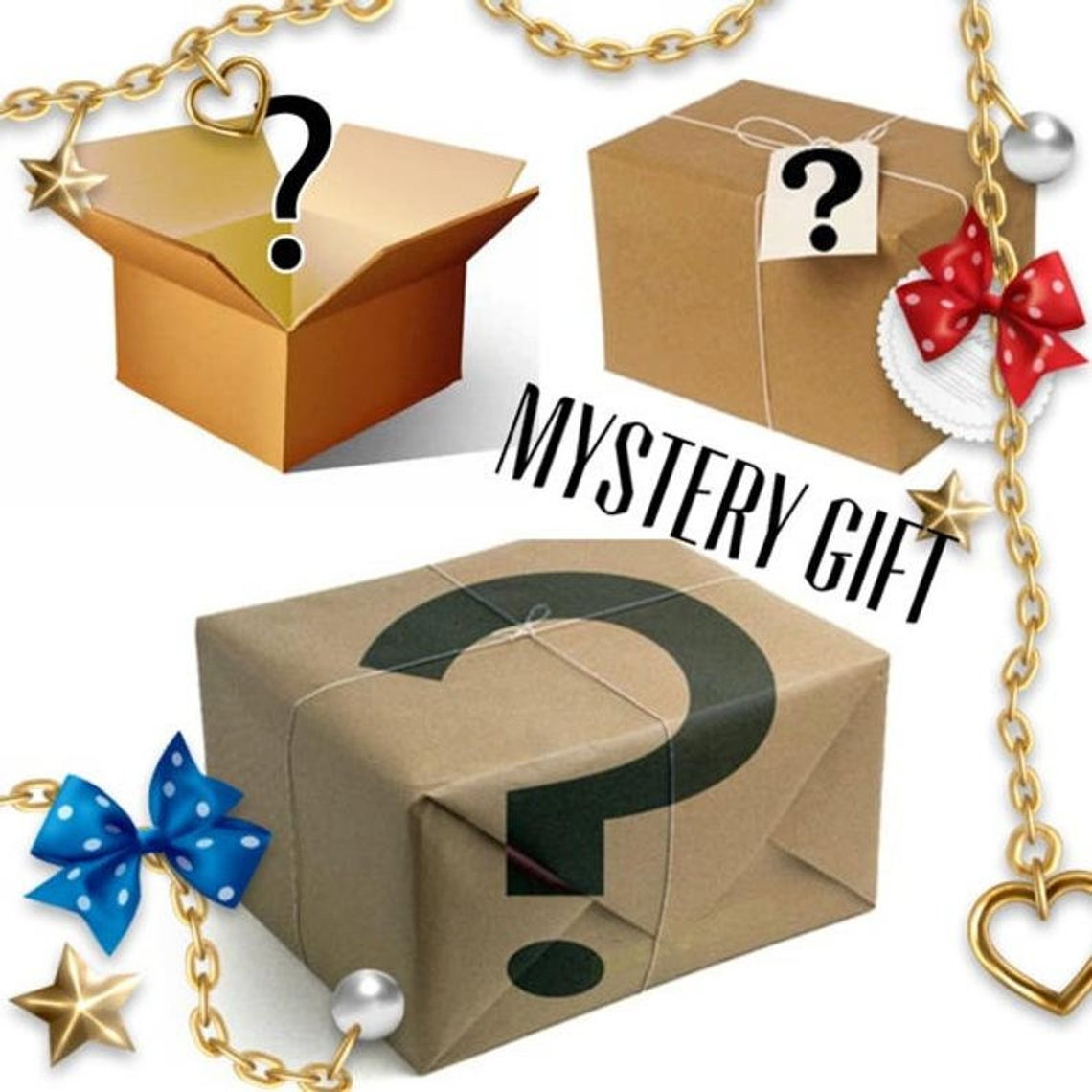 ✨Mystery Ring Box - Gift For Her (5+ Rings)