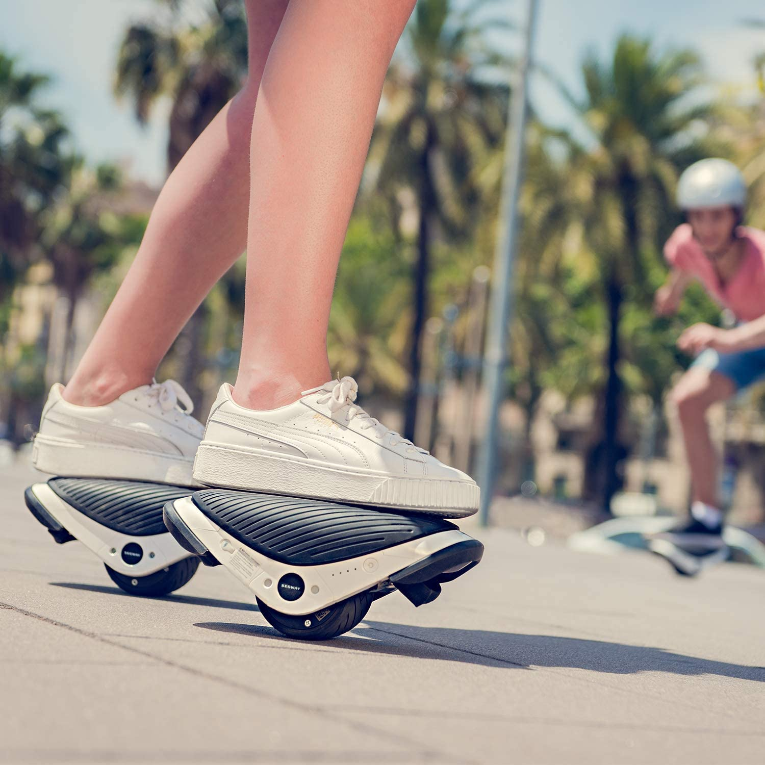 Electric Roller Skates Hovershoes, Two Wheels self Balancing Scooter with RGB LED, Rollerblades for Kids and Adults