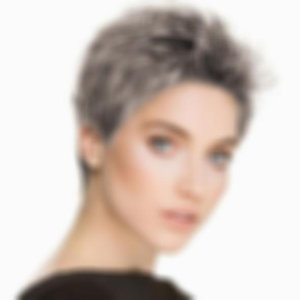 KAMI 007 Pixie Boycuts Short Hairstyle Wig for White Women Straight Synthetic Blonde Hair