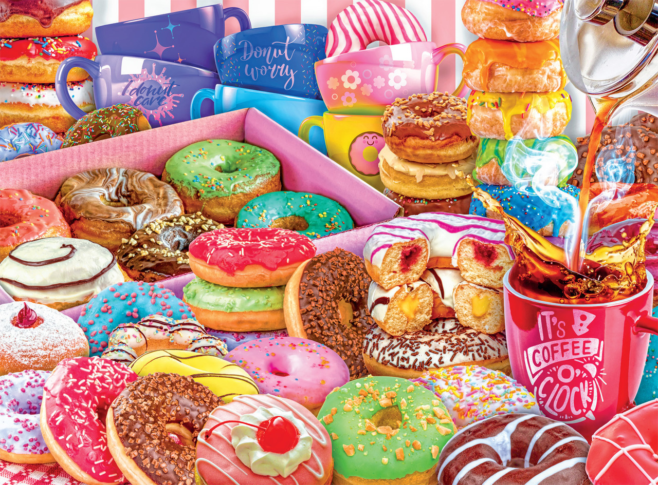 Yummy cupcakes Jigsaw Puzzle (buy 2 sets free shipping)