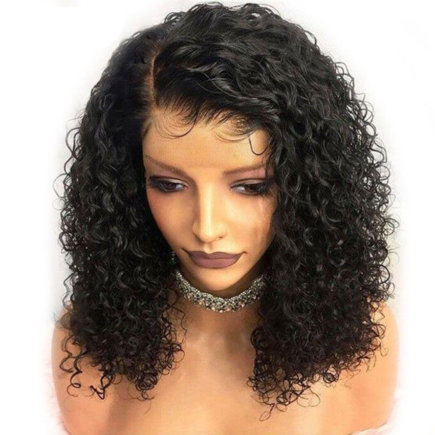 Lace Front Wigs Black Hair clip on wigs for black hair In Loverlywigs.com