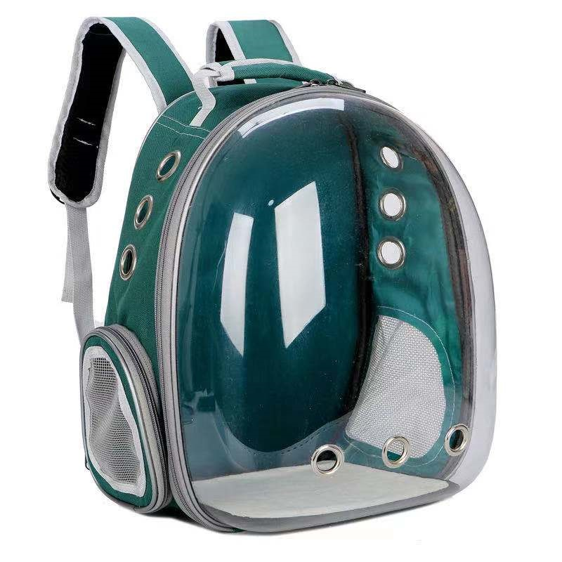 Cat Carrier Backpack With Space Capsule Travel Bubble Design
