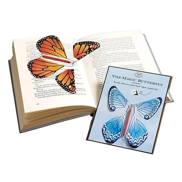 Early Christmas Hot Sale 50% OFF- Magic Butterfly Flying Card Toy(Buy 20 Free Shipping)