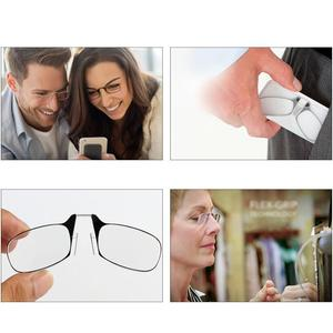 【⭐LAST DAY 50% OFF⭐】Key Chain Clip Nose Reading Glasses
