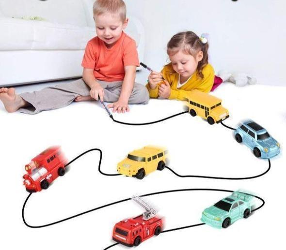 Magic Pen Inductive Toy Car--Last Day Promotion 50% Off!