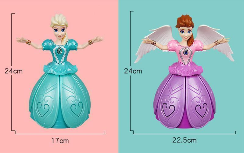 (BUY TWO Free Shipping Worldwide) Remote Control Girl Dancing Princess Music Doll Toys