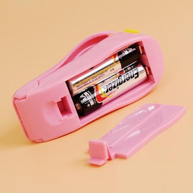Plastic Packing Bag Heat Sealing Machine Sealer Tool Home Kitchen Seal Supplies Candy Color Kitchen Gadget