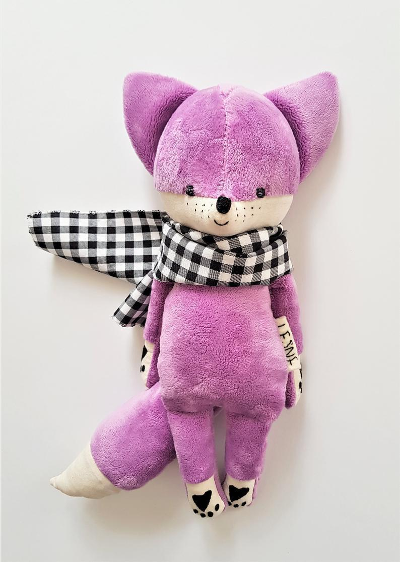 🎁Best Gift for Christmas🎁The cute stuffed fox made-to-order