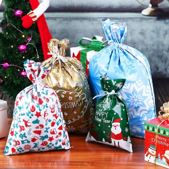 【Quarterly discount --Welcoming Christmas】Drawstring Christmas Gift Bags Regular priceSale price$2.99