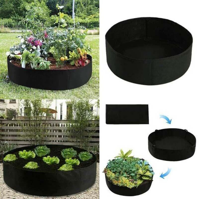 (🎄Christmas Big Sale🎄-48% OFF)Large Volume Fabric Raised Planting Bed(Buy 3 Get 1 Free+Free Shipping)