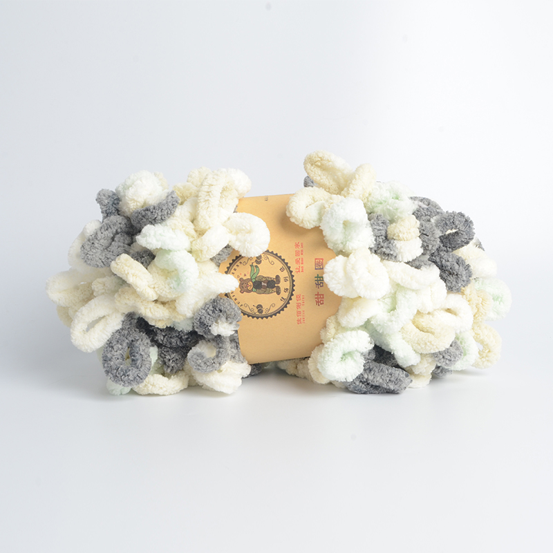100g Eyelash Ruffle Fur Yarn Loop Yarn