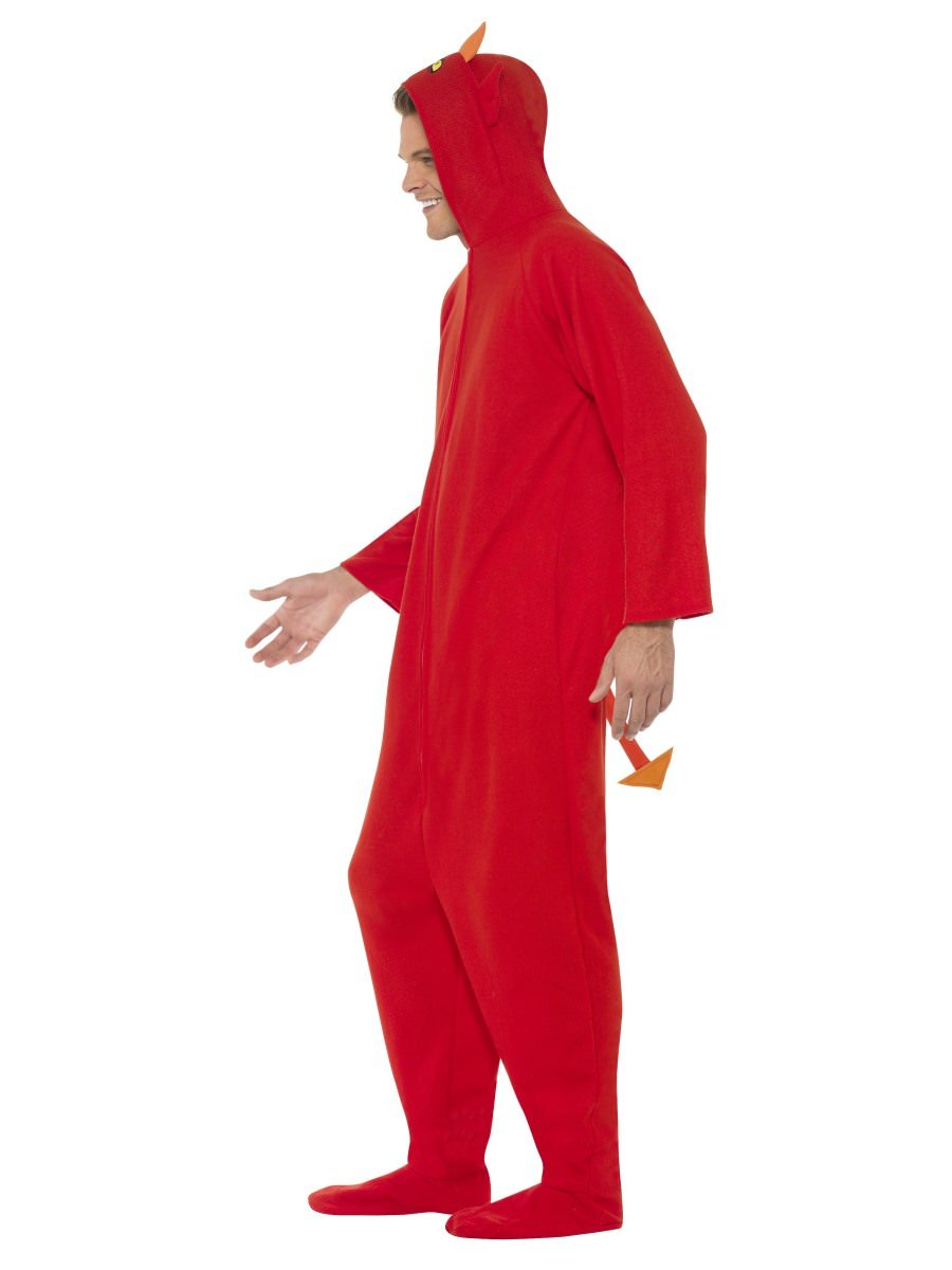 Devil Costume, Hooded All in One