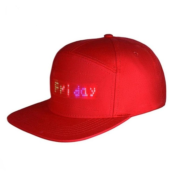 LED Message Cap - Valentine's Day Special: Extra 20% Off