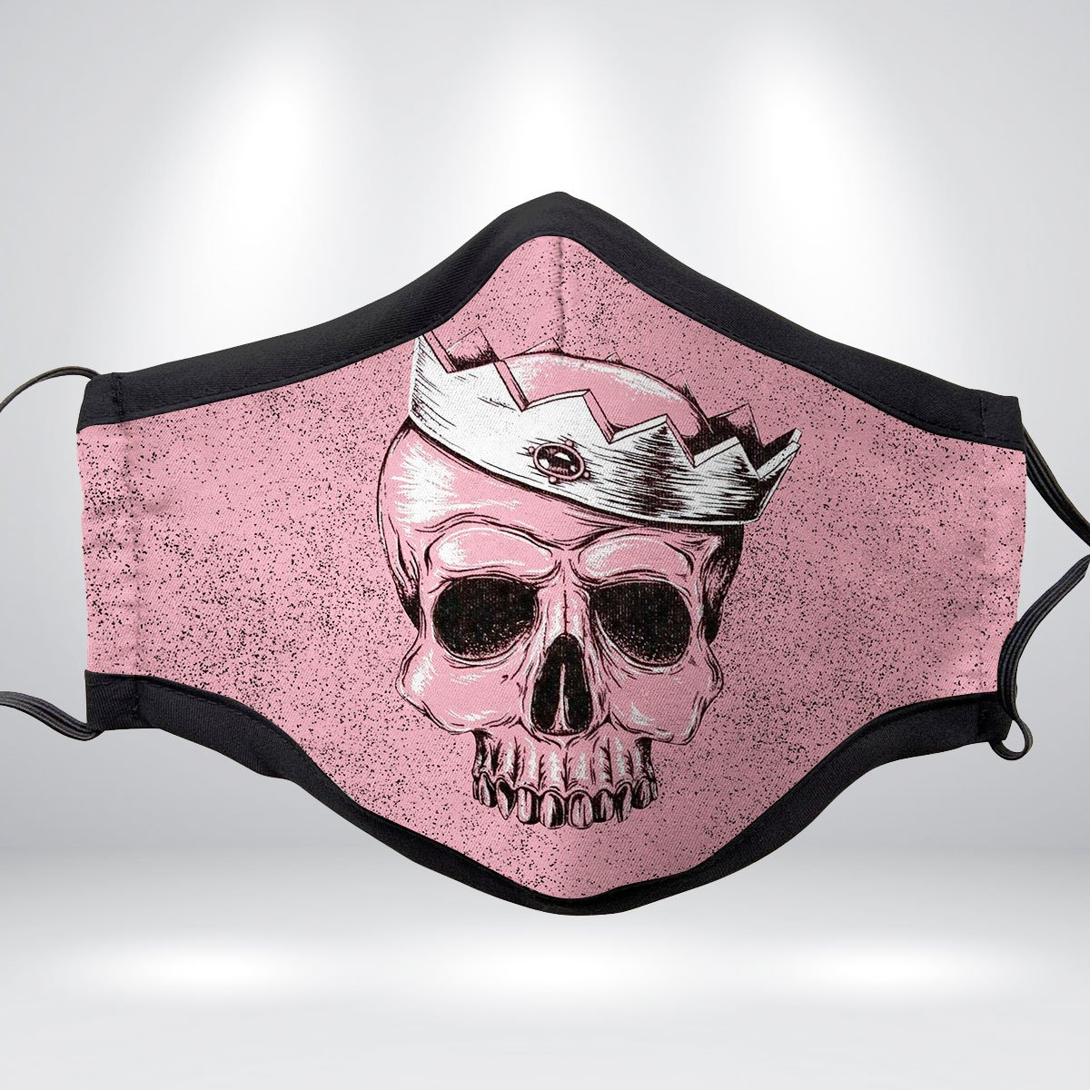 CANDY SKULL Fabric Face Mask