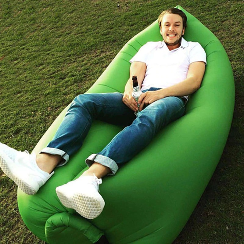 Outdoor camping lazy inflatable sofa